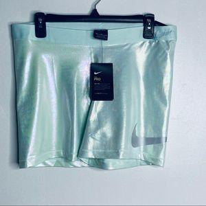 Nike Pro Iridescent Spandex Shorts